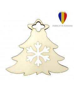 Ornament de brad lemn - brad