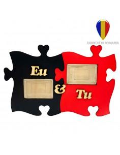 Rama foto lemn EU & TU 2 poze