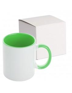 Cana maner interior verde MANGO + cutie individuala