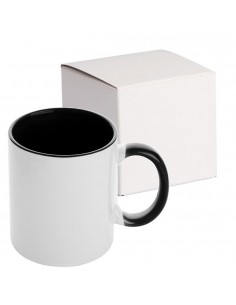 Cana maner interior negru MANGO + cutie individuala