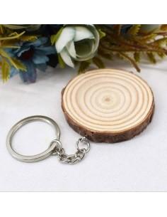 Breloc felie lemn