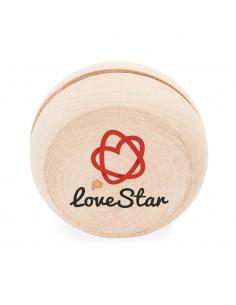 Yoyo promotional din lemn
