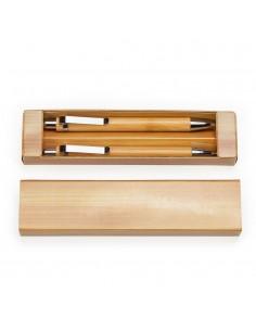 Set pix si creion din bambus