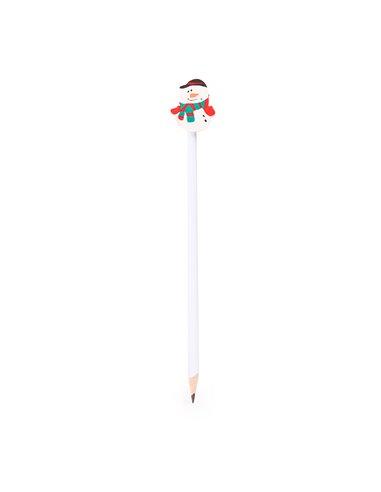 Creion cu guma model om de zapada - set 10buc