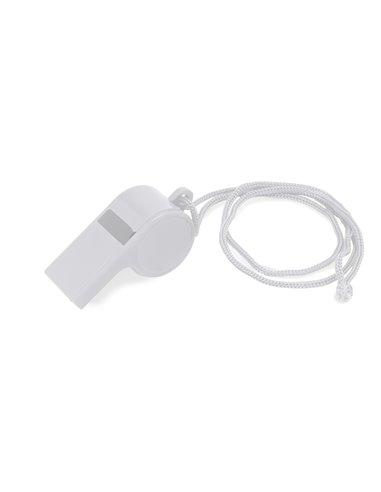 Fluier clasic cu snur - set 10 buc