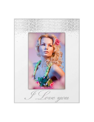 Rama sticla I Love You 10x15