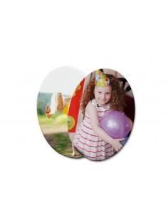 Placa ceramica oval sublimare