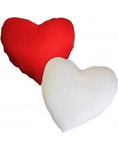 Husa perna mata alb+rosu inima