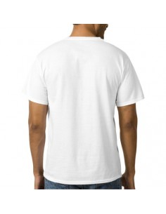 Tricou alb bumbac