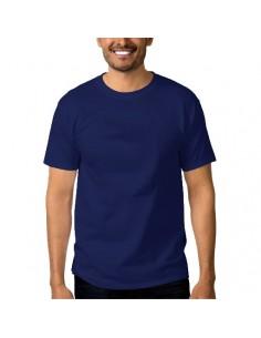 Tricou Keya albastru inchis bumbac 100%
