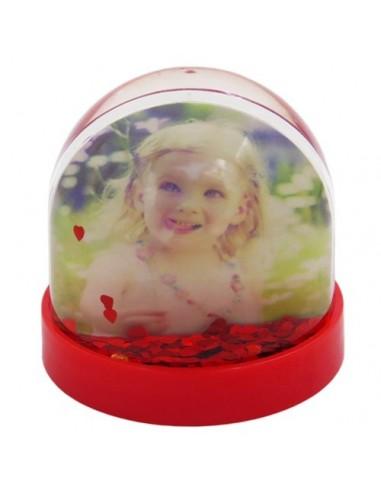 Glob foto rotund - inimi