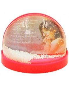 Glob foto magnetic rosu